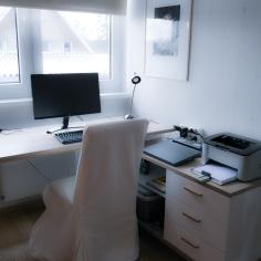 Minu unelmate kodukontor meie praeguses, 6. kodus.