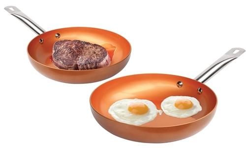 Copper Non Stick Pan